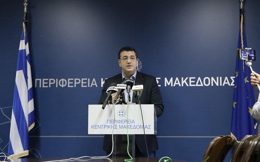 Αποτέλεσμα εικόνας για Μέτρα για την αντιμετώπιση της πανδημίας του κορονοϊού ανακοίνωσε ο Περιφερειάρχης Κεντρικής Μακεδονίας Απόστολος Τζιτζικώστας